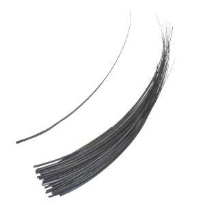 www.houseofadorn.com - Feather Ostrich Quill Spine - Grey