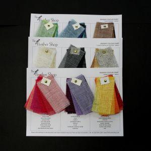 www.houseofadorn.com - Sinamay Color Card