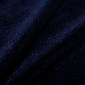 www.houseofadorn.com - Velvet Spandex Lycra 4 Way Stretch Fabric W150cm - Plain (Price per 1m) - Dark Navy Blue