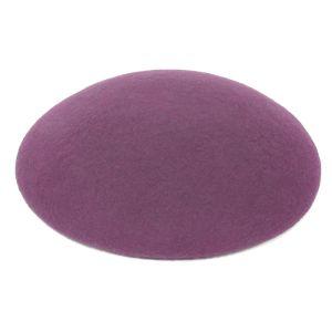 www.houseofadorn.com - Wool Felt Button Hat - Purple