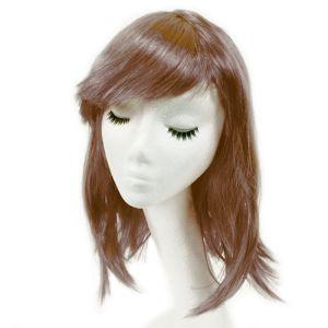 www.houseofadorn.com - Wigs Costume - Women Medium Length Premium Quality - Brown