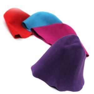 www.houseofadorn.com - Felt Wool Cone Hood