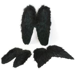 www.houseofadorn.com - Wings Feather Fairy Angel Wings Medium Range