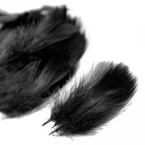 www.houseofadorn.com - Feather Duck Mallard Plumage Loose (Price per 3g) - Black ***SLIGHT FAULTS***