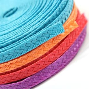 www.houseofadorn.com - Poly Braid Ribbon - Double Braid 7mm (Price per 5m)