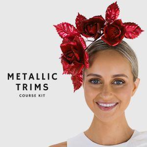 www.houseofadorn.com - Product Kit - Millinery Materials for Hat Atelier METALLIC TRIMS COURSE Bundle (COMPLETE KIT)