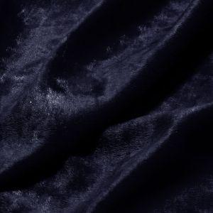 www.houseofadorn.com - Velvet Spandex Lycra 2 Way Stretch Fabric W150cm - Panne/Crushed Velvet (Price per 50cm) - Navy