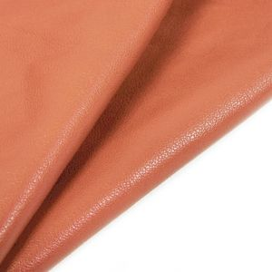 www.houseofadorn.com - Leather Skin - Sheep Italian Soft Nappa Full-Grain (Price per 2-3 sq ft) - Orange