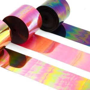www.houseofadorn.com - Sequin Film by Love Lotus Style 10631 - Iridescent (Price per 1m)