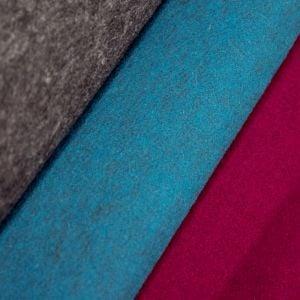 www.houseofadorn.com - Felt Flat Fabric - Italian Thermoformable Wool Felt (Price per 50x50cm Sheet)