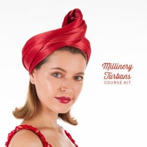 www.houseofadorn.com - Product Kit - Millinery Materials for Hat Academy MILLINERY TURBANS COURSE Bundle (COMPLETE KIT)